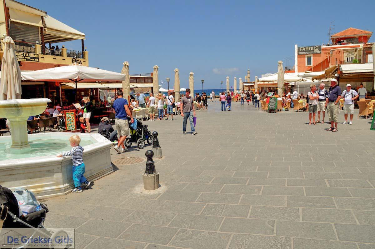 foto Fontein op het Venizelos plein  | Chania stad | Kreta