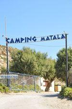 Camping Matala | Zuid Kreta | De Griekse Gids foto 71 - Foto van De Griekse Gids