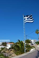 Griekse vlag Avlemonas Kythira | Griekenland | De Griekse Gids 64 - Foto van De Griekse Gids