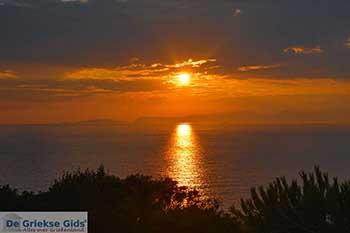 Zonsondergang West Kythira Foto 1 - Foto van De Griekse Gids