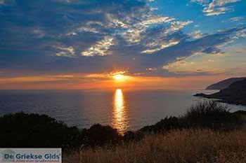 Zonsondergang West Kythira Foto 2 - Foto van De Griekse Gids
