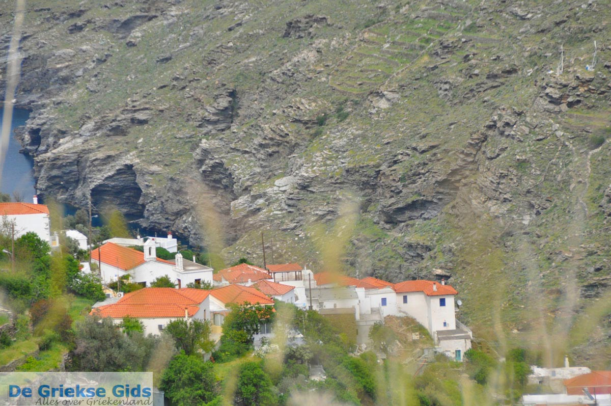 foto Op weg naar het klooster Panachrantou | Eiland Andros | De Griekse Gids 003