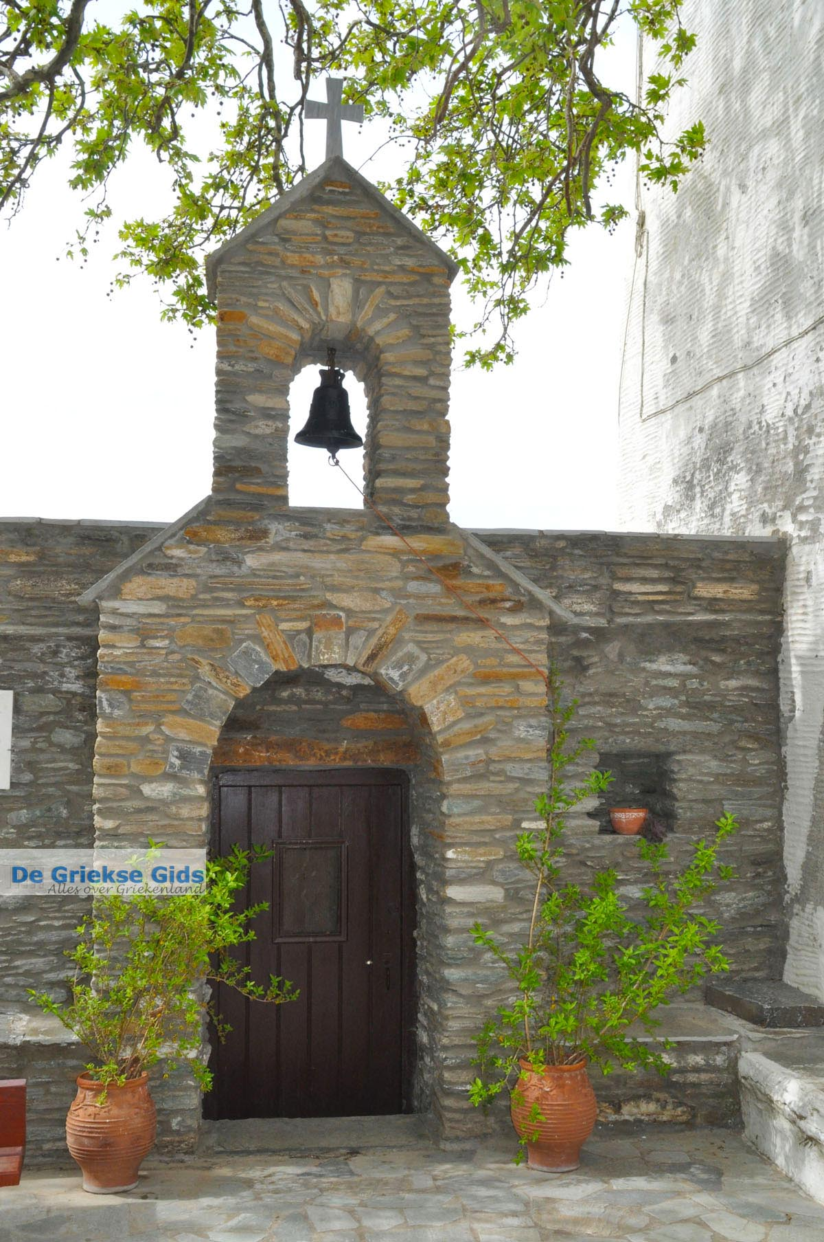 foto Panachrantou Klooster | Eiland Andros | De Griekse Gids | Foto 20