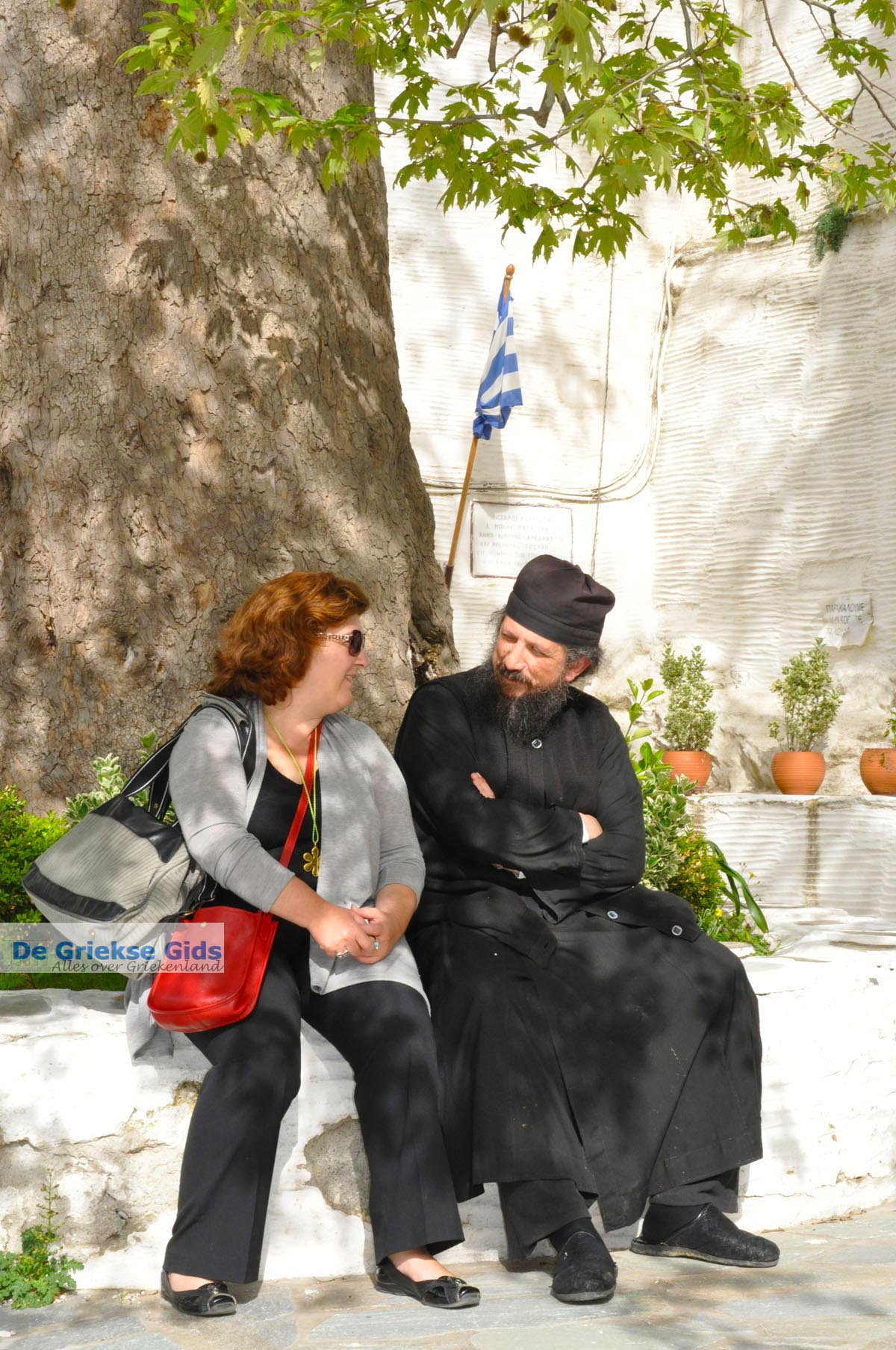 foto Panachrantou Klooster | Eiland Andros | De Griekse Gids | Foto 55