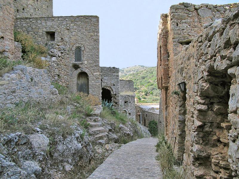 foto Anavatos | Oude huizen | Chios - De Griekse Gids