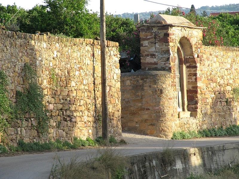 foto Watermolen Kambos |Chios - De Griekse Gids
