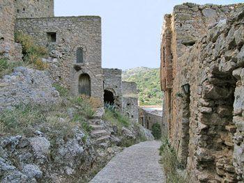 Anavatos | Oude huizen | Chios - De Griekse Gids - Foto van Doortje van Lieshout