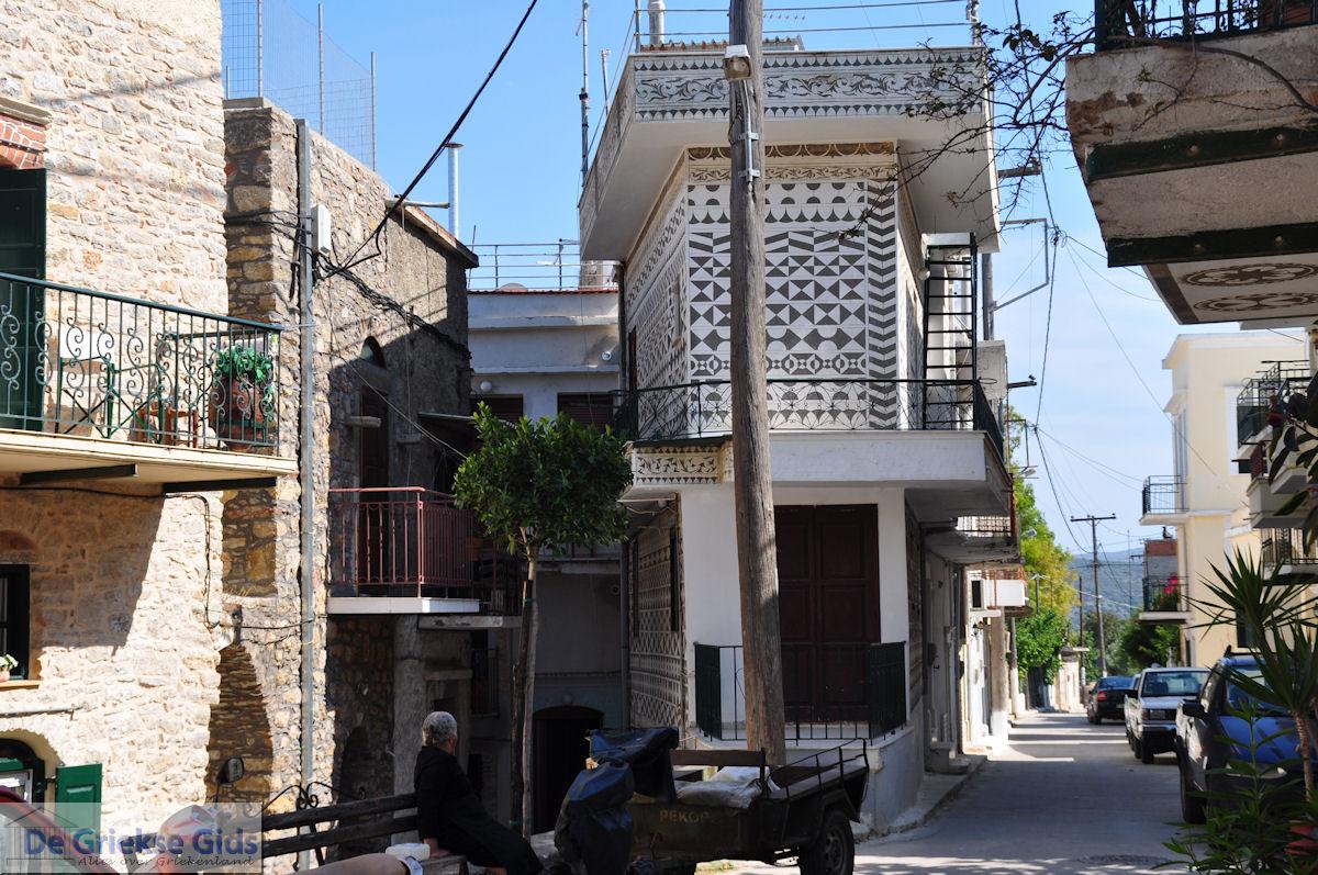 foto Typisch Pyrgi - Eiland Chios