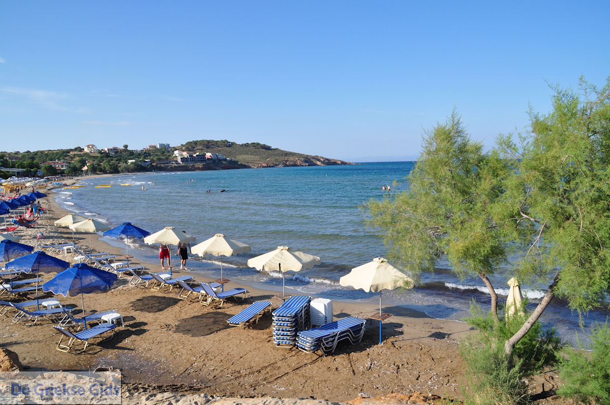 foto Ligstoelen en parasols Karfas - Eiland Chios
