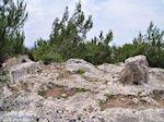 Homerus stone Daskalopetra - Eiland Chios - Foto van De Griekse Gids