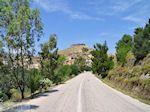 De provinciale weg naar Volissos - Eiland Chios