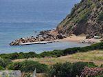 Prive strand westkust - Eiland Chios - Foto van De Griekse Gids