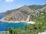 Verlaten strand aan de westkust - Eiland Chios