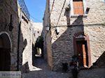 Smalle steegjes in Mesta - Eiland Chios - Foto van De Griekse Gids