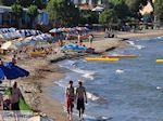 Schitterend zandstrand Karfas - Eiland Chios - Foto van De Griekse Gids