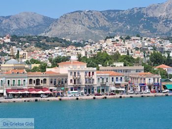 Aankomst aan de haven van Chios stad - Eiland Chios - Foto van De Griekse Gids