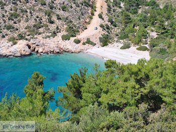 Afgelegen strand aan de mooie westkust - Eiland Chios - Foto van De Griekse Gids