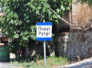 Aankomst in Pyrgi - Eiland Chios - Foto van https://www.grieksegids.nl/fotos/eilandchios/350pixels/eiland-chios-foto-122.jpg