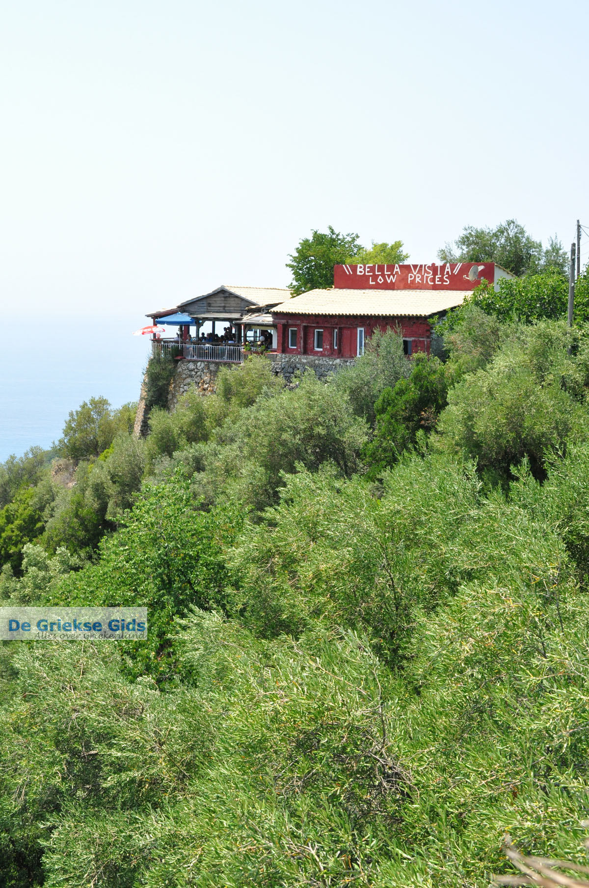 foto Bella Vista bij Lakones | Corfu | Griekenland 3