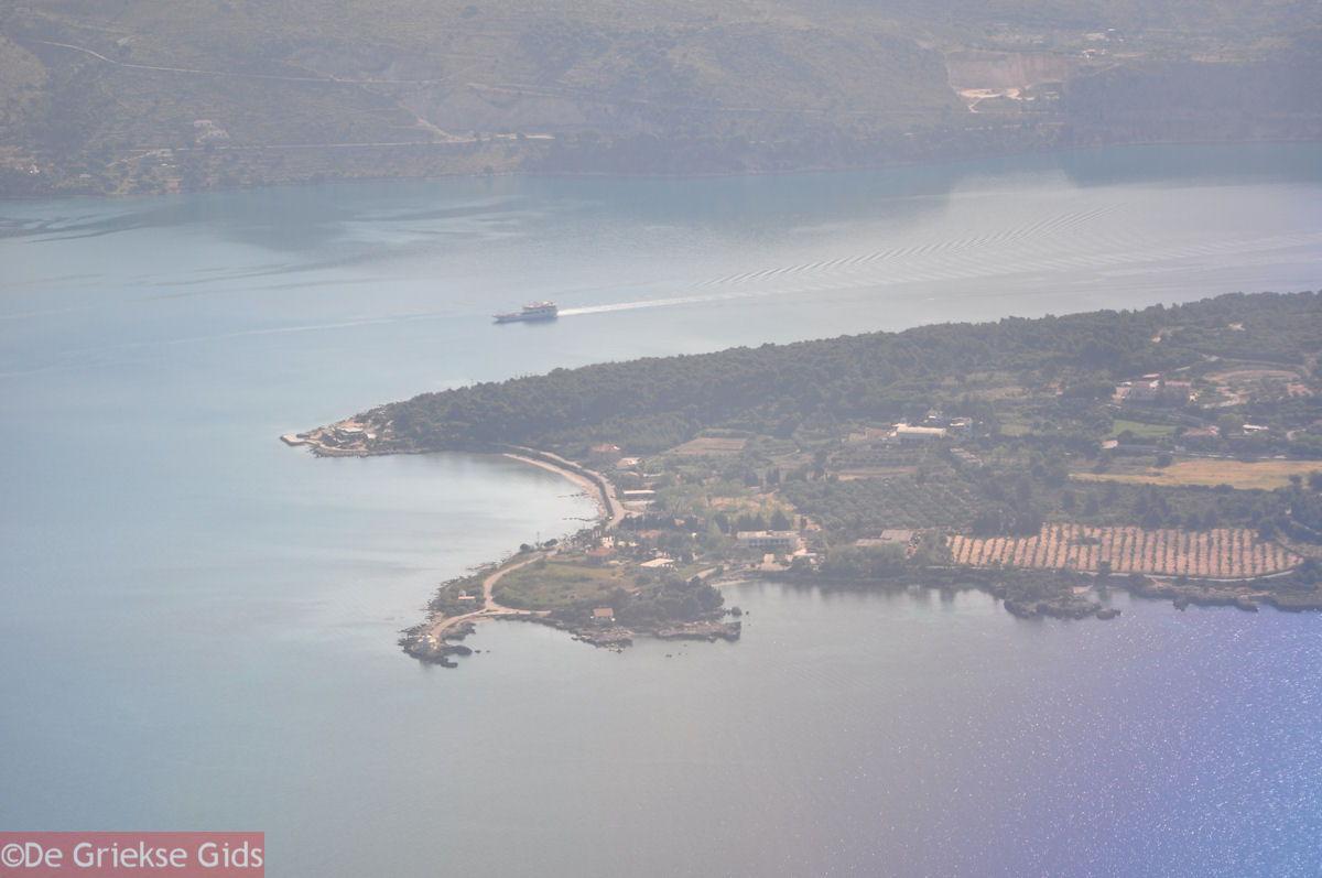 foto Luchtfoto Katavothres Argostoli - Kefalonia - Foto 2