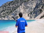 Myrtos strand - Kefalonia - Foto 57 - Foto van De Griekse Gids