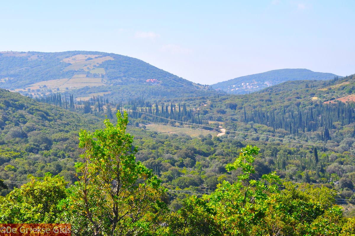 foto Berglandschap Ainos - Kefalonia - Foto 160