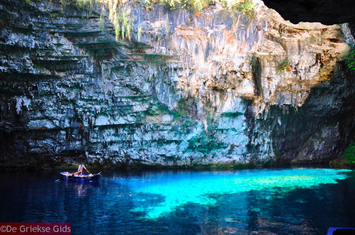 foto Melissani grot - Kefalonia - Foto 204