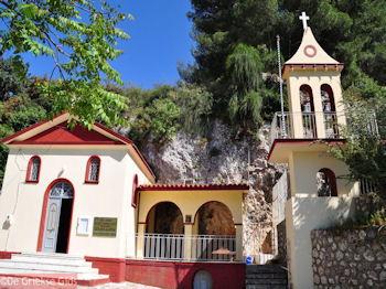 Kerkje bij grot van Agios Gerasimos - Kefalonia - Foto 297 - Foto van De Griekse Gids