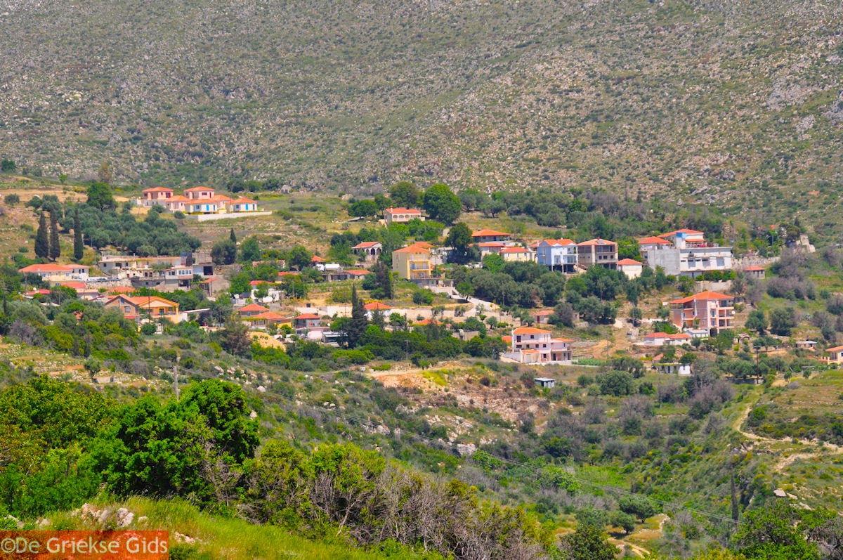 foto Het dorpje Markopoulo bij Katelios - Kefalonia - Foto 458