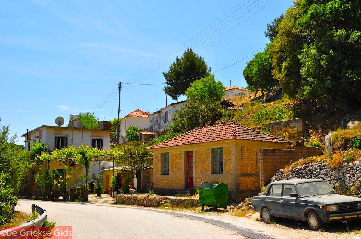 foto Bergdorpje bij Ainos - Kefalonia - Foto 462