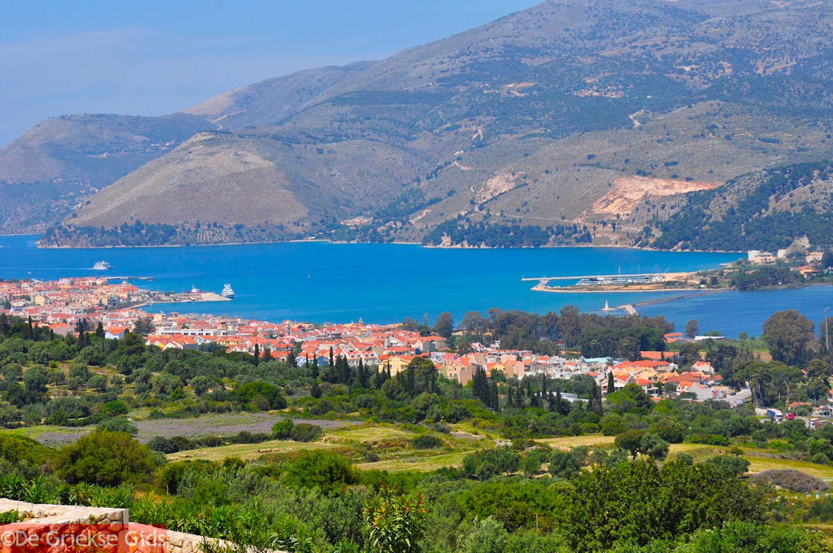 foto De baai van Argostoli - Kefalonia - Foto 464