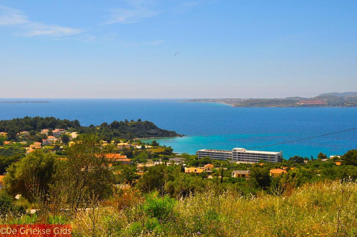 foto Uitzicht op Lassi en aan de overkant Paliki - Kefalonia - Foto 466