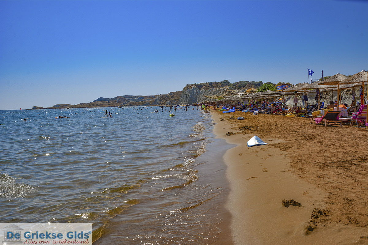 foto Xi Beach, het rode strand - Kefalonia - Foto 528