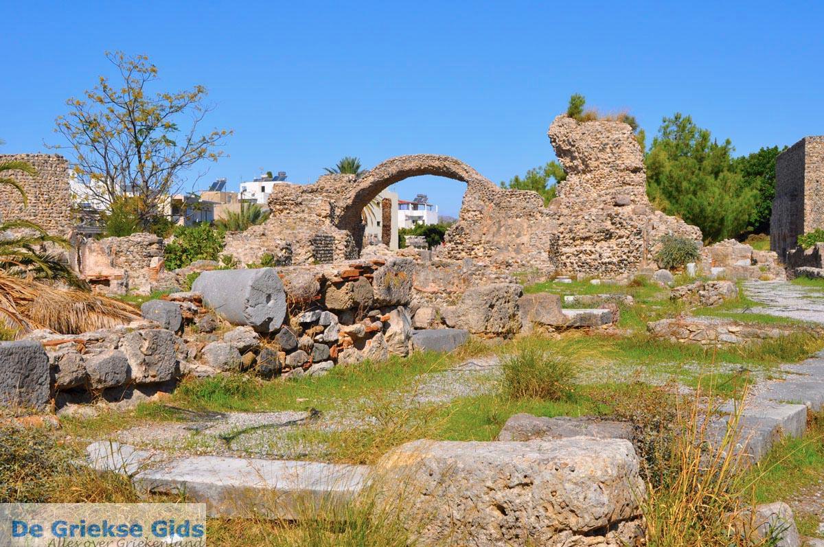 foto Archeologische ruines Kos stad   Eiland Kos   Griekenland foto 2