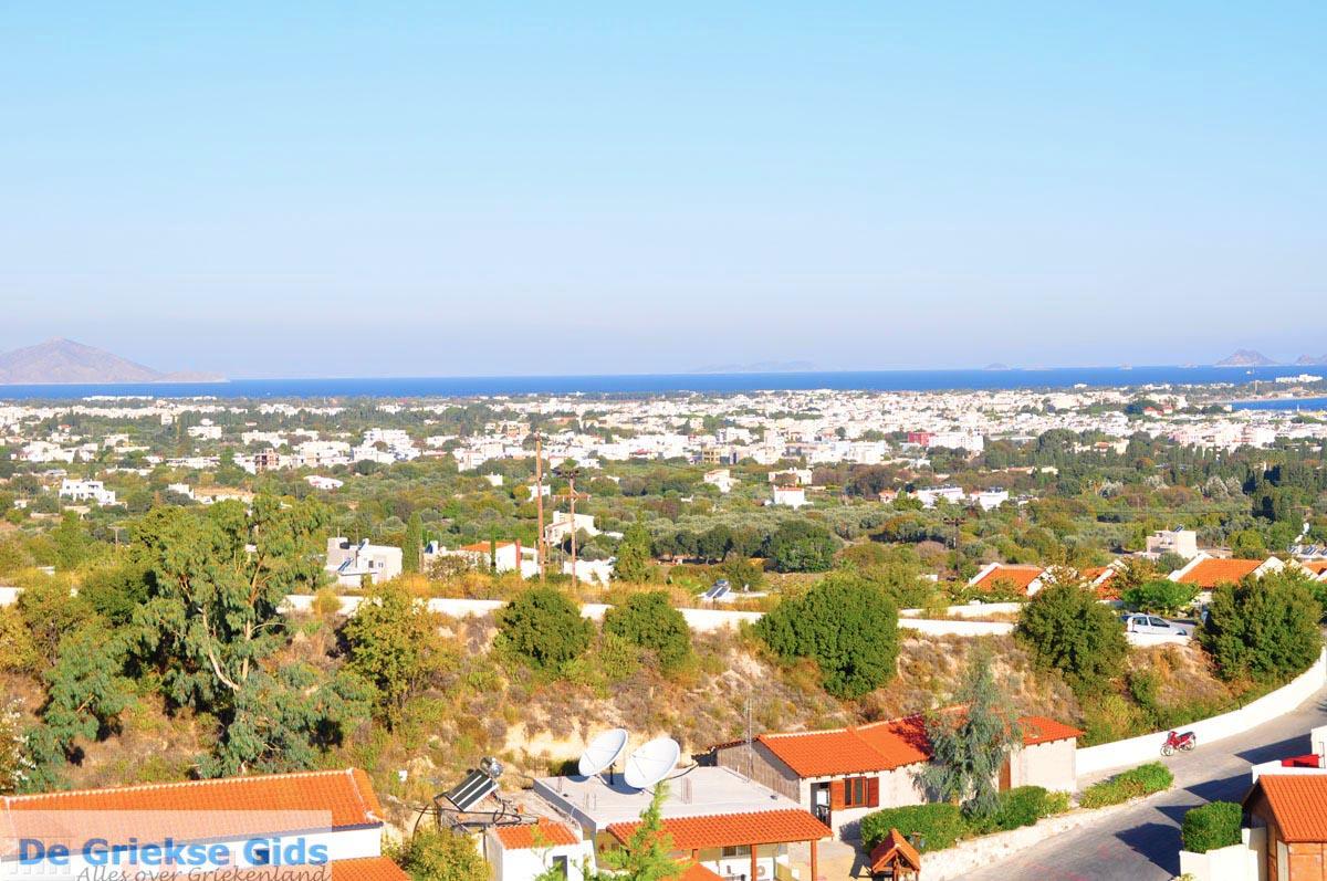 foto Kos stad en daar tegenover de Turkse kust bij Bodrum | foto 5
