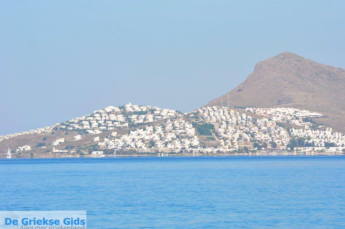 foto Kos stad en daar tegenover de Turkse kust bij Bodrum   foto 10