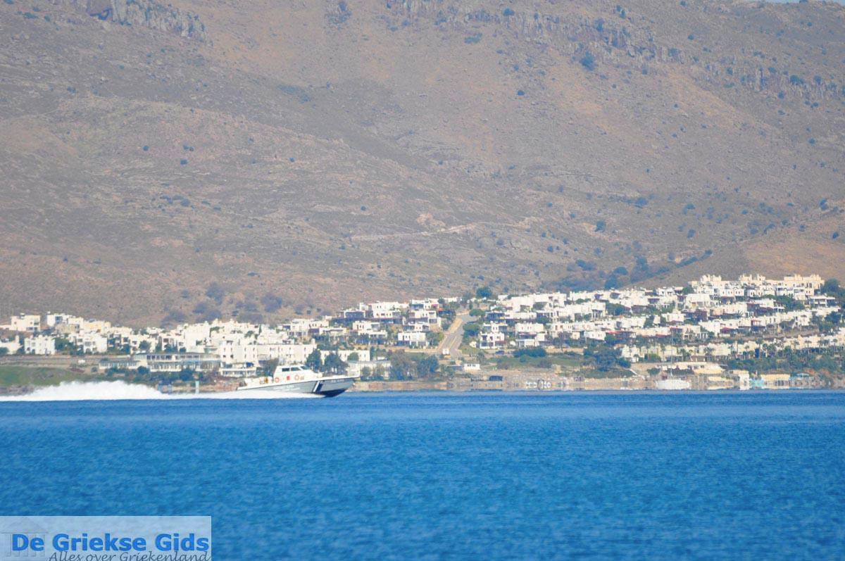 foto Kos stad en daar tegenover de Turkse kust bij Bodrum | foto 11