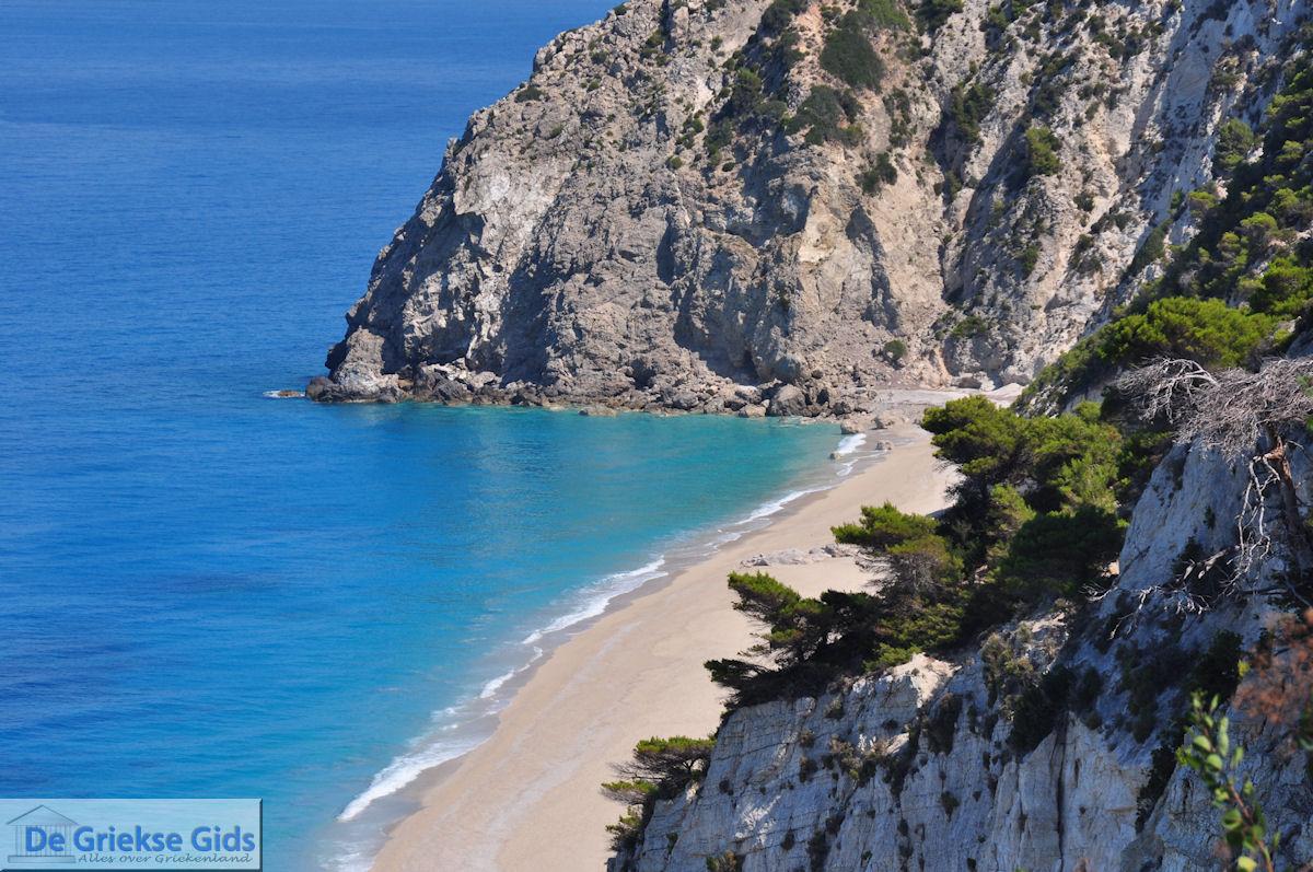 foto Het Egremni zandstrand - Lefkas (Lefkada)