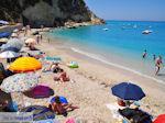 Het levendige strand van Agios Nikitas - Lefkas (Lefkada) - Foto van De Griekse Gids