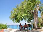 Relaxen op een bankje in Agios Nikitas - Lefkas (Lefkada) - Foto van De Griekse Gids