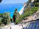 GriechenlandWeb.de 350 trappen Egremni Strandt - Lefkas (Lefkada) - Foto GriechenlandWeb.de