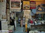 Winkel van Mavreta Arvaniti-Katopodi met geweven kleden in Karia - Lefkas (Lefkada) - Foto van De Griekse Gids