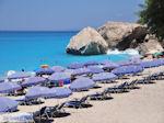Het mooie zandstrand van Kathisma foto 11 - Lefkas (Lefkada) - Foto van De Griekse Gids