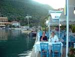 Syvota (Sivota) Lefkas - Griekenland - Foto 8 - Foto van Rietje en Peter van Boesschoten