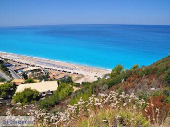 Het mooie zandstrand van Kathisma foto 4 - Lefkas (Lefkada) - Foto van De Griekse Gids