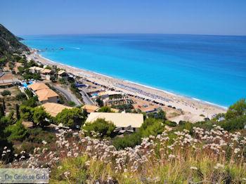 Het mooie zandstrand van Kathisma foto 5 - Lefkas (Lefkada) - Foto van De Griekse Gids