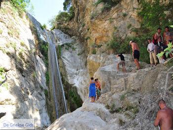 Kataraktis - Waterval foto 8 - Lefkas (Lefkada) - Foto van De Griekse Gids
