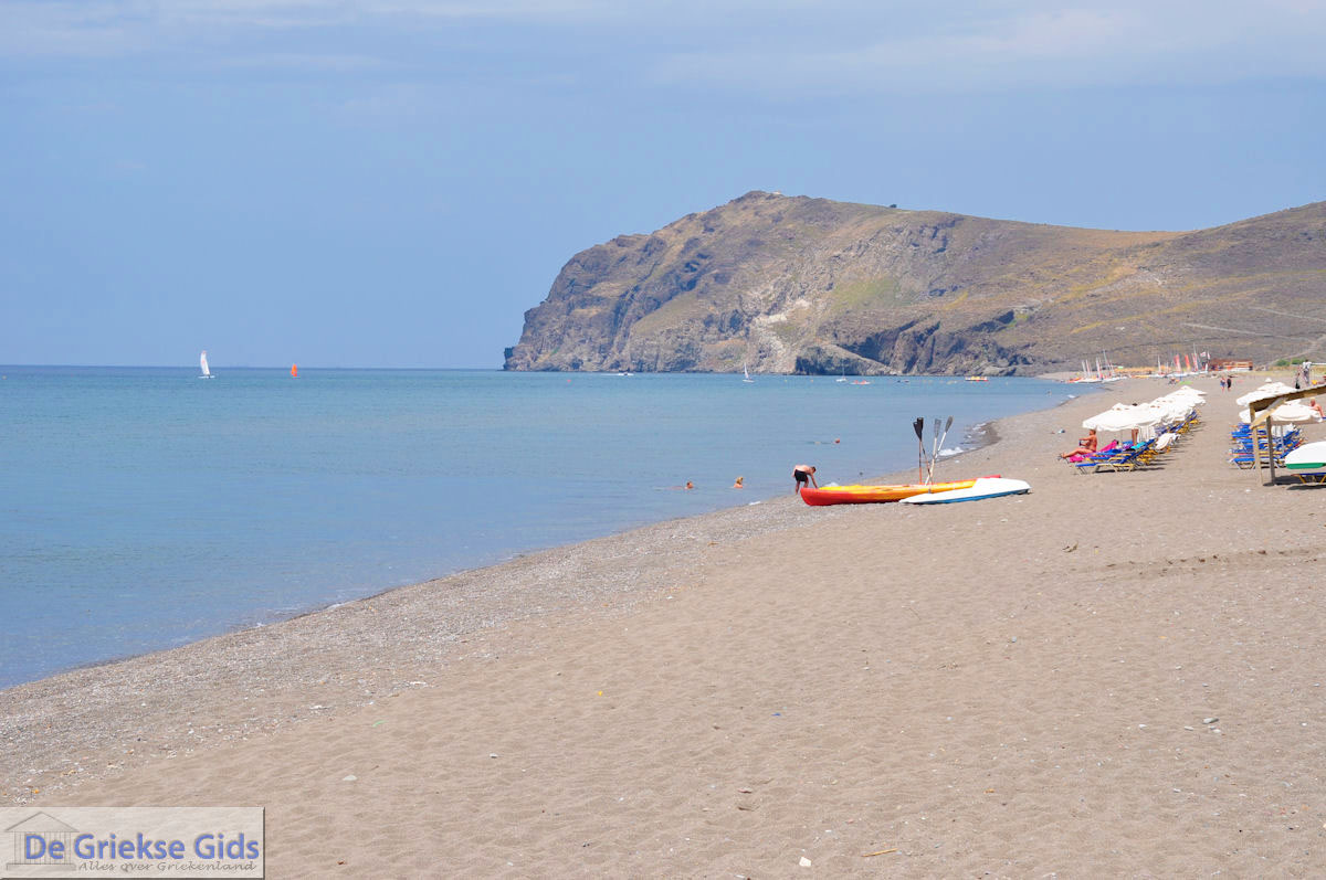 foto Het grote strand van Skala Eressos foto 2