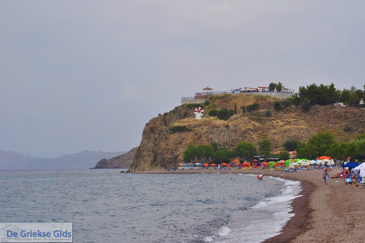 foto Een bewolkte dag aan het strand van Anaxos foto 2