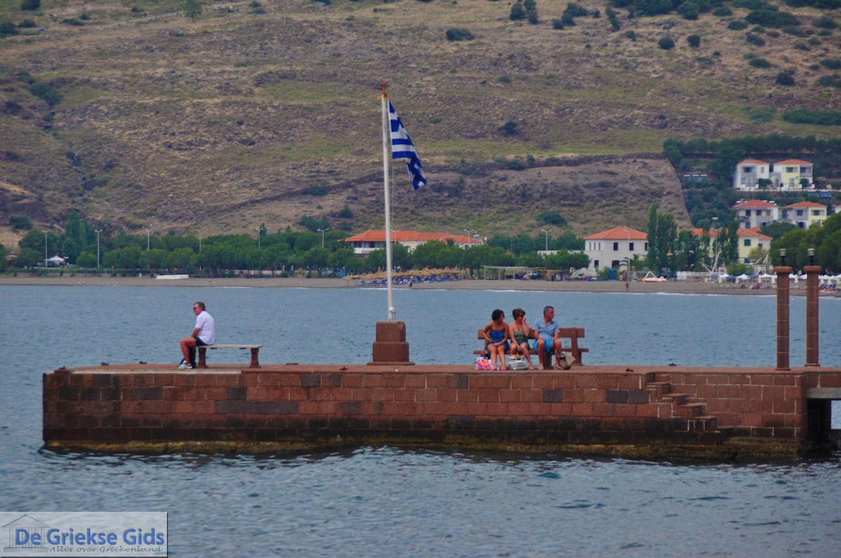 foto Griekse vlag Petra